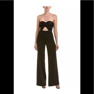 JAYGODFREY l Black jumpsuit cutout front sz 0